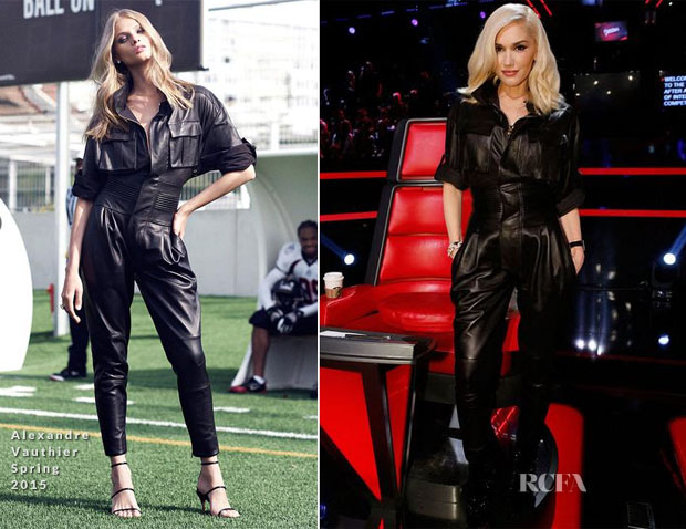 Gwen Stefani In Alexandre Vauthier - The Voice