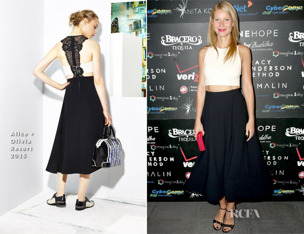 Gwyneth Paltrow In Alice + Olivia - Imagine1day Annual Gala