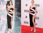 Heidi Klum In Versace - 2014 American Music Awards