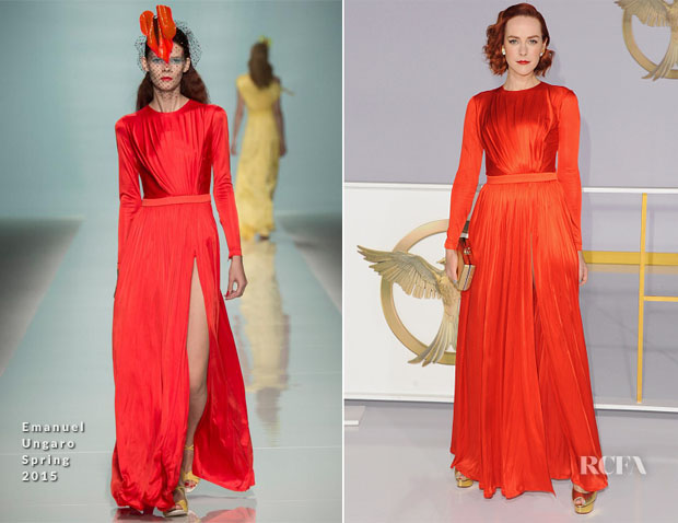 Jena Malone In Emanuel Ungaro - 'The Hunger Games Mockingjay - Part 1' LA Premiere