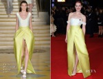 Jena Malone In Emilia Wickstead - 'The Hunger Games: Mockingjay – Part 1′ London Premiere