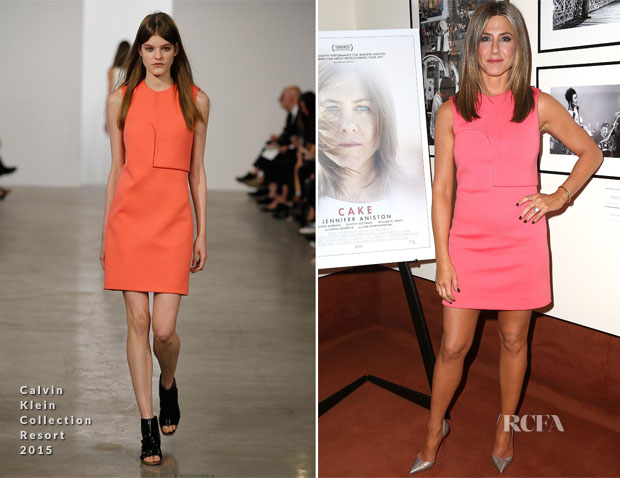 Jennifer Aniston In Calvin Klein Collection - 2014 Variety Screening Series: 'Cake' Screening