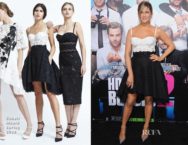 Jennifer Aniston In Zuhair Murad - 'Horrible Bosses 2' LA Premiere