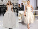 Jennifer Lawrence In Christian Dior Couture - 'The Hunger Games: Mockingjay - Part 1' LA Premiere