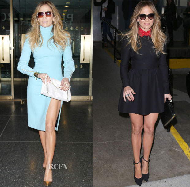 Jennifer Lopez In Emanuel Ungaro & Valentino - 'True Love' Book Tour