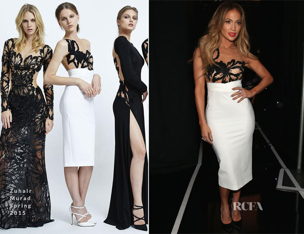 Jennifer Lopez In Zuhair Murad - 2014 Hollywood Film Awards