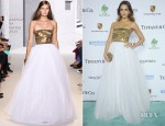 Jessica Alba In Andrew Gn - 2014 Baby2Baby Gala