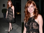 Jessica Chastain In Elie Saab - 'A Most Violent Year' New York Screening