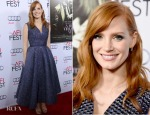Jessica Chastain In Roksanda - AFI FEST 2014 Opening Night Gala Screening of 'A Most Violent Year'