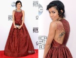 Jhene Aiko In Alice + Olivia - 2014 American Music Awards