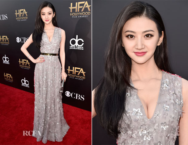Jing Tian In Christian Dior Couture - 2014 Hollywood Film Awards - Red  Carpet Fashion Awards b9f9d34b3
