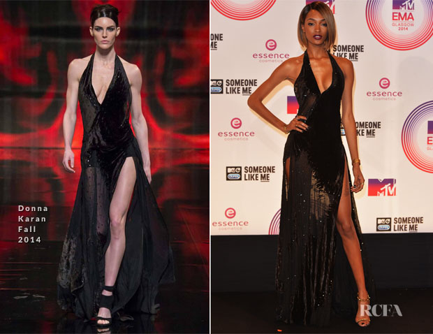 Jourdan Dunn In Donna Karan - 2014 MTV EMAs