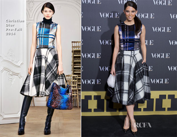 Juana Acosta In Christian Dior - Vogue Joyas 2014 Awards