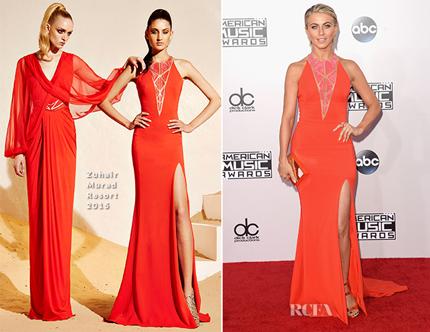 Julianne Hough In Zuhair Murad - 2014 American Music Awards
