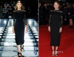 Julianne Moore In Balenciaga - 'The Hunger Games: Mockingjay – Part 1' London Premiere