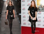 Julianne Moore In Louis Vuitton - 'Still Alice' AFI FEST 2014  Screening
