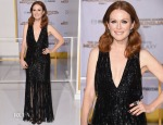 Julianne Moore In Tom Ford - 'The Hunger Games Mockingjay - Part 1' LA Premiere