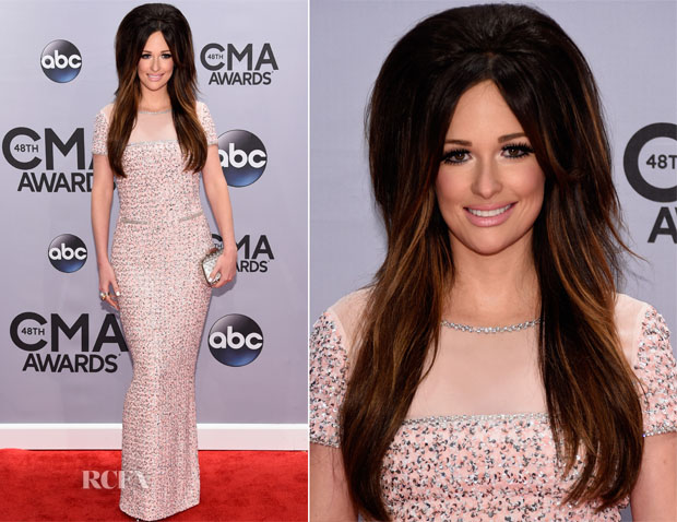 Kacey Musgraves In Oscar de la Renta - 2014 CMA Awards
