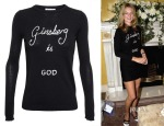 Kate Moss' Bella Freud Ginsberg Is God Jumper