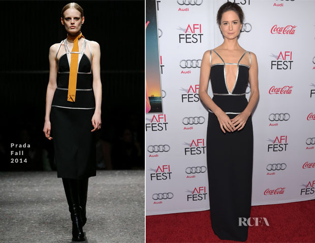 Katherine Waterston In Prada - 'Inherent Vice' AFI FEST 2014 Gala Premiere