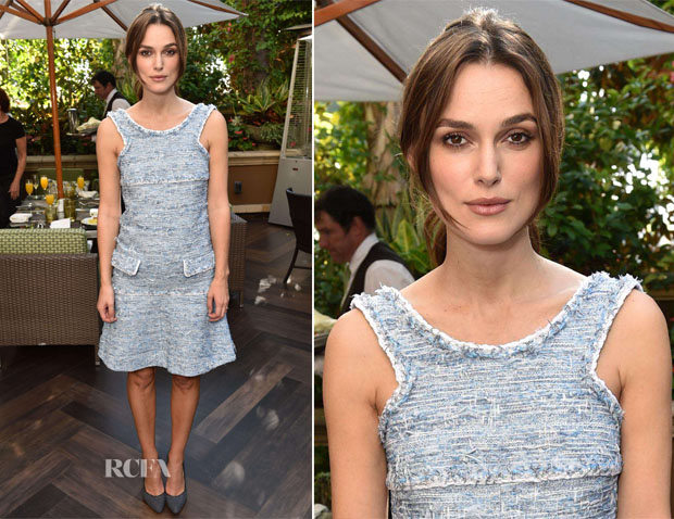 Keira Knightley In Chanel - 'The Imitation Game' & The Weinstein Company Brunch
