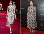 Keira Knightley In Dolce & Gabbana - 'The Imitation Game' New York Premiere