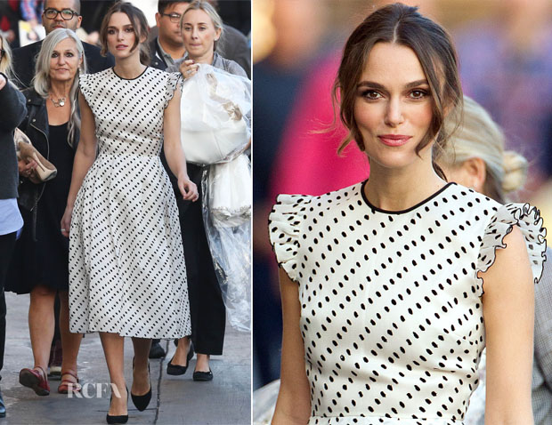 Keira Knightley In Erdem - Jimmy Kimmel Live!