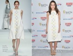 Keira Knightley In Holly Fulton - BAFTA New York Presents In Conversation With Keira Knightley