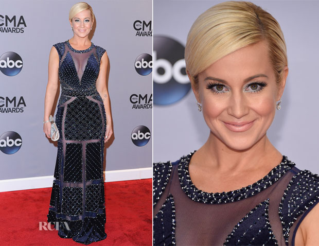 Kellie Pickler In Johnathan Kayne - 2014 CMA Awards