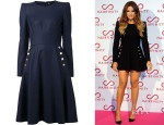 Khloe Kardashian's Alexander McQueen Flared Dress