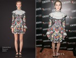 Kiernan Shipka In Valentino - Hamilton Behind The Camera Awards