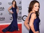 Kimberly Williams Paisley In Romona Keveza - 2014 CMA Awards