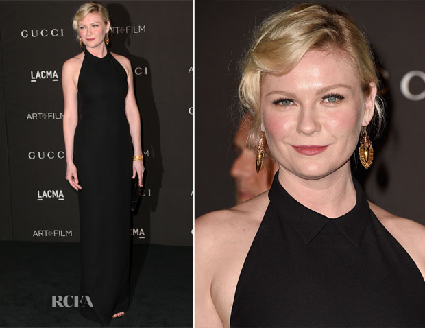 Kirsten Dunst In Gucci - 2014 LACMA Art + Film Gala