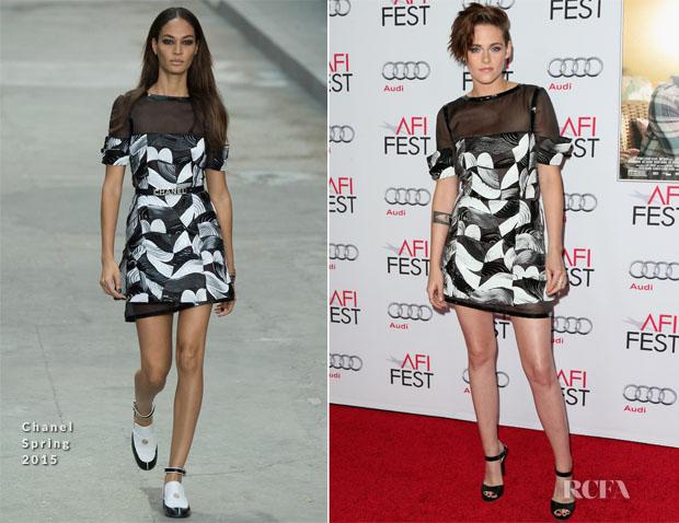 Kristen Stewart In Chanel - 'Still Alice' AFI FEST 2014 Premiere