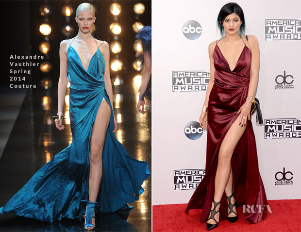 Kylie Jenner In Alexandre Vauthier Couture - 2014 American Music Awards
