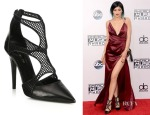 Kylie Jenner's Tamara Mellon Fever Fishnet Pumps