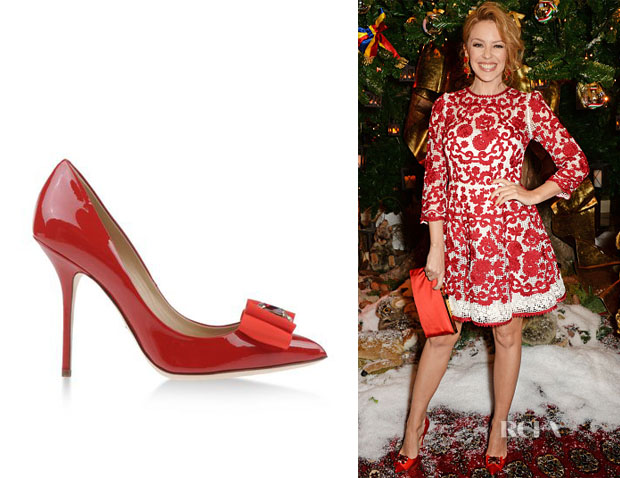 Kylie Minogue's Dolce & Gabbana 'Bellucci K' Pumps