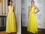 Margot Robbie In Rosie Assoulin - Harper's Bazaar Women of the Year Awards