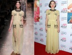 Marion Cotillard In Valentino -  'Two Days, One Night' AFI FEST 2014 Screening