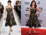 Martina McBride In Oscar de la Renta - 2014 CMA Awards
