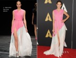 Michelle Monaghan In J.Mendel - Academy Of Motion Picture Arts And Sciences' Governors Awards