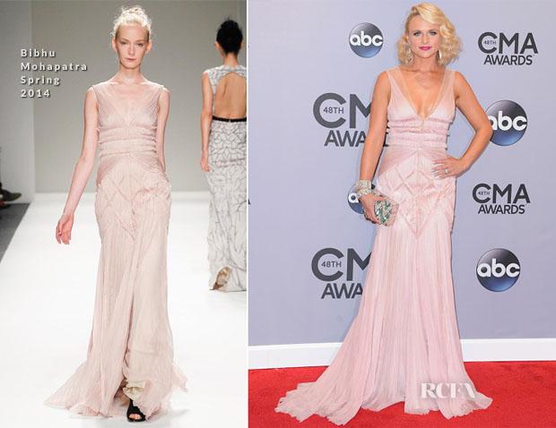 Miranda Lambert Bibhu Mohapatra 2014 CMA Awards