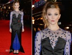 Natalie Dormer In Nicholas Oakwell Couture  - 'The Hunger Games: Mockingjay – Part 1′ London Premiere