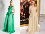 Natalie Dormer In Rochas - 'The Hunger Games: Mockingjay - Part 1' LA Premiere