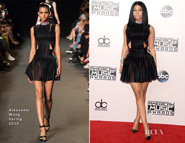 Nicki Minaj In Alexander Wang - 2014 American Music Awards