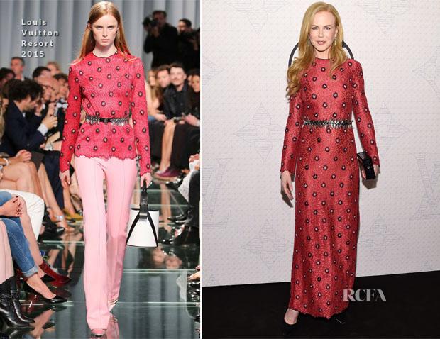 Nicole Kidman In Louis Vuitton - Louis Vuitton Monogram Celebration