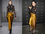 Nicole Richie In Marchesa - GILT Celebrate The Launch Of The House Of Harlow 1960 Home Fragrance Collection