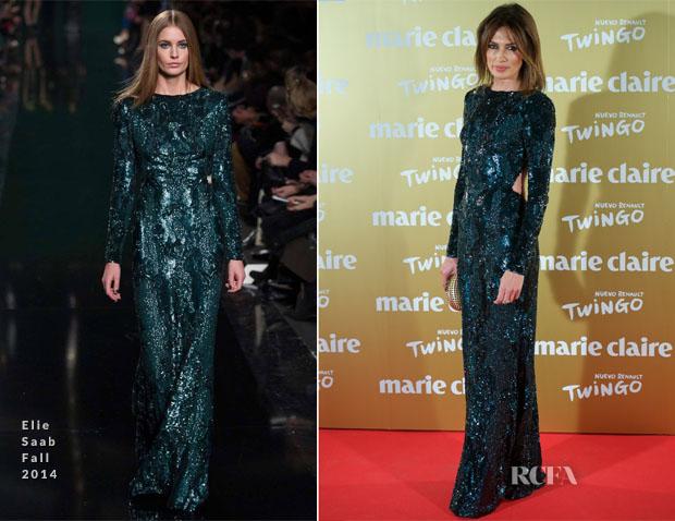 Nieves Alvarez In Elie Saab - 2014 Marie Claire Prix de la Moda Awards