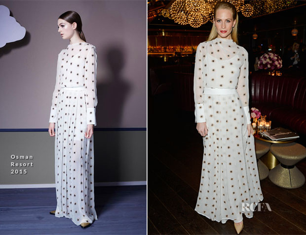 Poppy Delevingne In Osman - Osman Yousefzada's 'The Collective' Launch