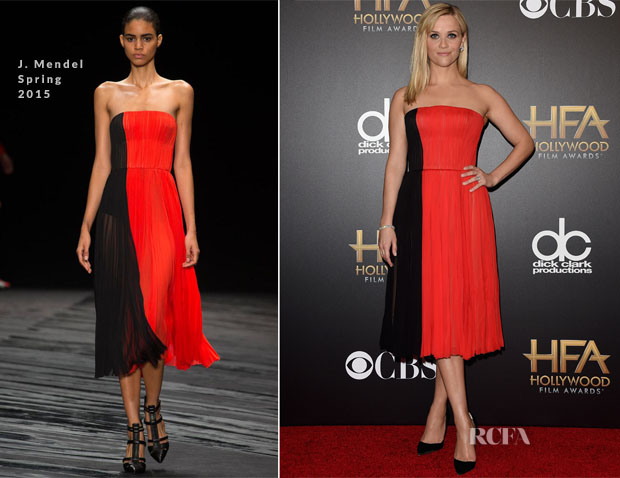 Reese Witherspoon In J Mendel - 2014 Hollywood Film Awards